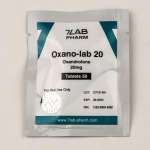 Oxano-lab 20 (Oxandrolone) - Oxandrolone - 7Lab Pharma, Switzerland
